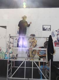 BineJoMo Udsmykning væg dekoration kunst væg wall dekoration