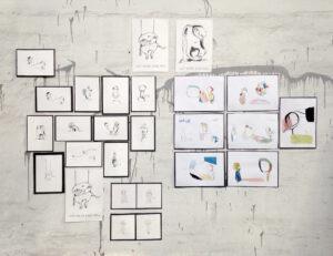 BineJoMo kunst illustration tegning kunstudvikling konsulent design visuel
